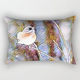 Junco Pastel Multi by CheyAnne Sexton Rectangular Pillow