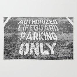 Lifeguard Parking Space Rug