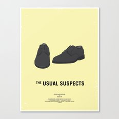 Dress The Part - Usual Suspects Canvas Print