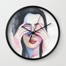 Calm. Breathe Wall Clock