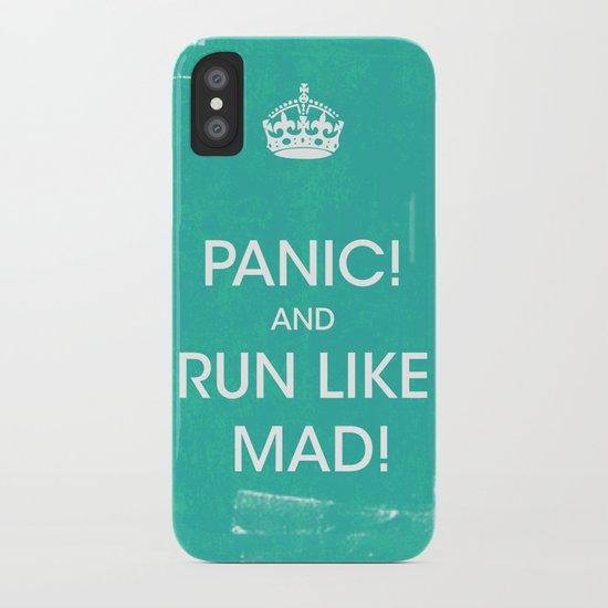 PANIC iPhone Case