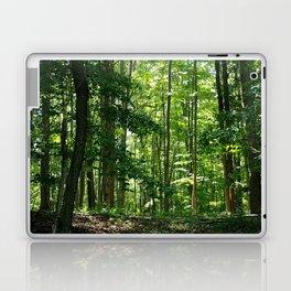 Pine tree woods Laptop & iPad Skin