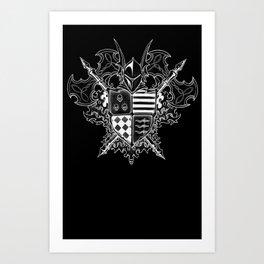 Doom Crest Art Print