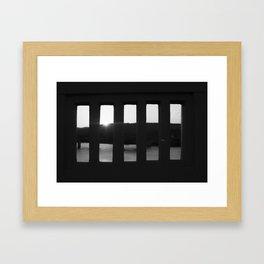 Bridge  In Pieces Framed Art Print
