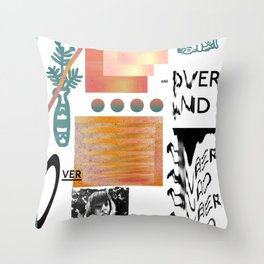 I love tits (overandover) Throw Pillow