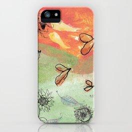 Seasons Fall iPhone Case