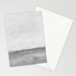 Light & Dark Gray with Gold Charcoal Grey Abstract Painting, Modern Wall Art, Stationery Cards