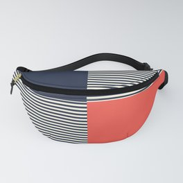 Dash in Red and Blue Fanny Pack