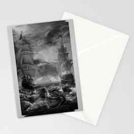 Naval Warfare Stationery Cards