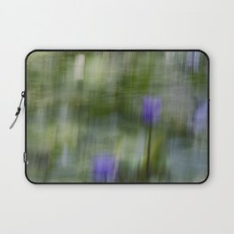 Tropical Impressionism (Purple Water Lily) Laptop Sleeve