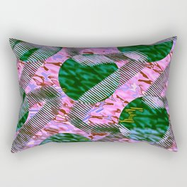 Vascular Spasm Rectangular Pillow