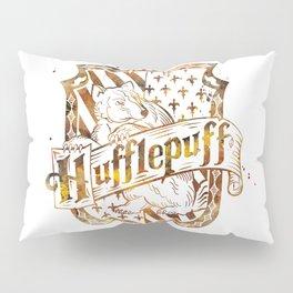 Hufflepuff Crest Pillow Sham