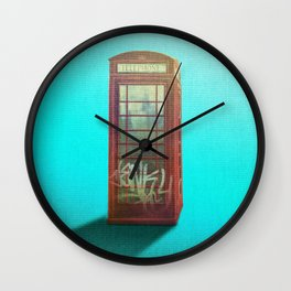 Dearly Departed 2 Wall Clock