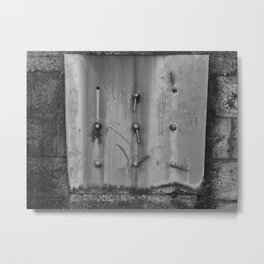 Metal Plate Metal Print
