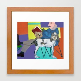Caught Up in the Moment Framed Art Print