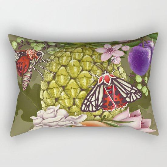 Glam Tropical Rectangular Pillow