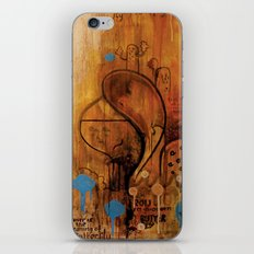 handicapped bull iPhone & iPod Skin