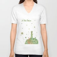 le petit prince V-neck T-shirts featuring Le Petit Prince The Little Prince by Carma Zoe