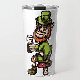 Drunken Leprechaun Travel Mug