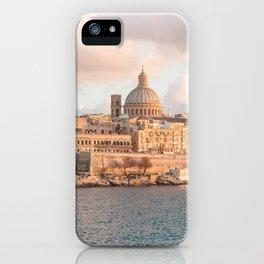 Valletta at Golden Hour iPhone Case