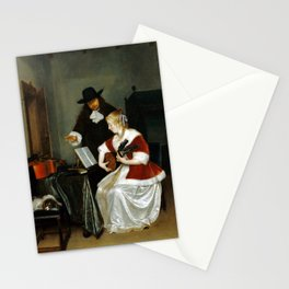 Gerard ter Borch The Music Lesson Stationery Cards