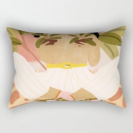 Crazy Plant Lady Rectangular Pillow