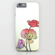Three Poppies Slim Case iPhone 6s