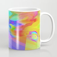 journey Mugs featuring Journey by Geni