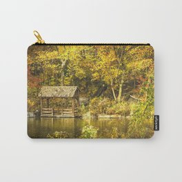 Autumn Lakeside Retreat Carry-All Pouch