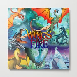Wings of fire dragon Metal Print