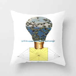 Ideas Come, Ideas Go Throw Pillow