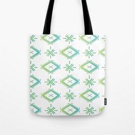 UrbanNesian Green & Turquoise Malu Tote Bag