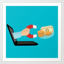 E-Commerce Art Print