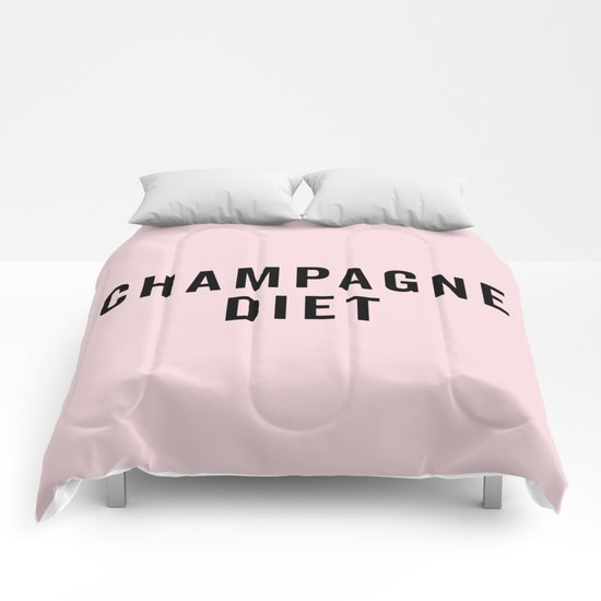 Champagne Diet Funny Quote by envyart