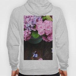 Beautiful hydrangea flowers Hoody