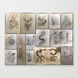Pendragon: The Legend Canvas Print