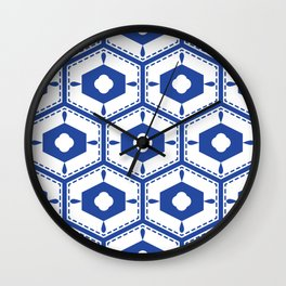 Mediterranean pattern Wall Clock