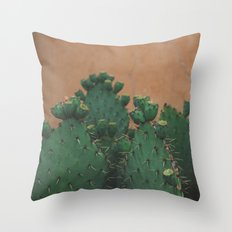 Route 66 Prickly Pears Throw Pillow