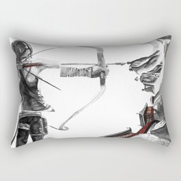 Lara Croft: Dimensional Shift  Rectangular Pillow