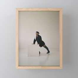 Cyber Triptych Framed Mini Art Print