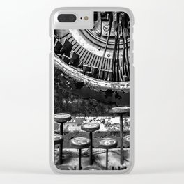 Typing histories Clear iPhone Case