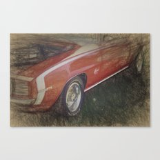Camaro SS 350 Canvas Print