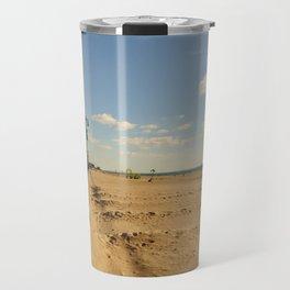 Coney Island Beach Travel Mug