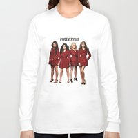 pretty little liars Long Sleeve T-shirts featuring #WCEveryday Pretty Little Liars cast by Illuminany