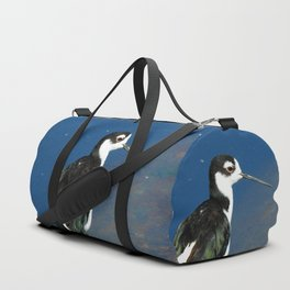 Juvenile Black Necked Stilt Duffle Bag