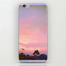 Rose Quartz and Serenity Landscape iPhone & iPod Skin