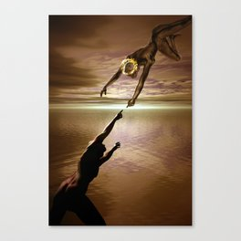 the love connection Canvas Print