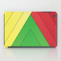 rasta iPad Cases featuring Rasta Triangles by Arlo @ Creative Konzepts
