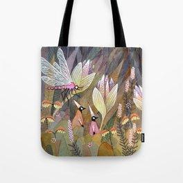 Flower Elves Tote Bag