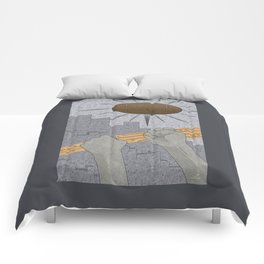 All Barriers Crumble and Fall - (Artifact Series) Comforters